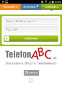 Screenshot of FirmenABC.at & TelefonABC.at