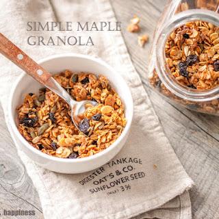 Homemade Granola Maple Syrup Recipes