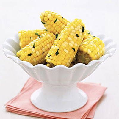 Corn on the Cob with Tarragon