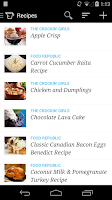 Screenshot of Recipe, Menu & Cooking Planner
