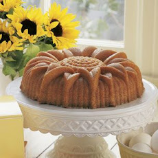 Lime Sunflower Cake