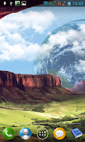 Screenshot of Fantasy mountains