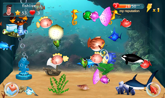Screenshot of Fish Live