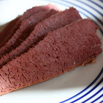 Dijon Corned Beef in the Slow Cooker