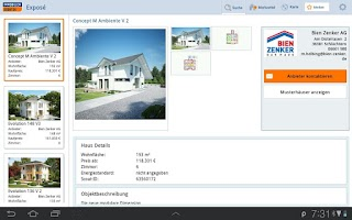 Screenshot of Hausbau: Immobilien Scout24 HD