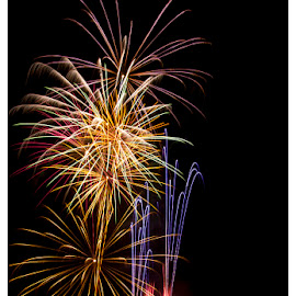 Nov 5th 2014 by Chris Duffy - Abstract Fire & Fireworks ( colorful, color, firework, fireworks, display )