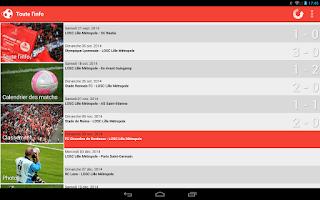 Screenshot of Foot Info Lille
