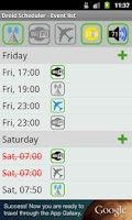 Screenshot of Droid Scheduler