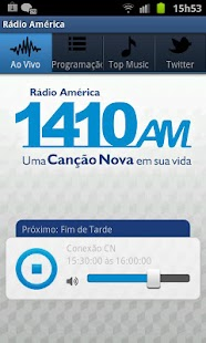 Rádio América - screenshot