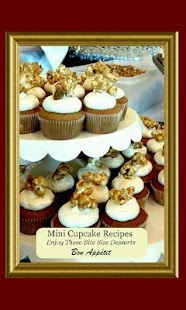 Mini Cupcake Recipes - screenshot