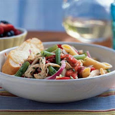 Chicken-Penne Salad with Green Beans
