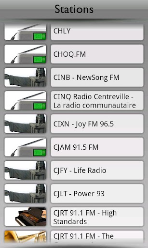 Canada Radio by Tunin.FM