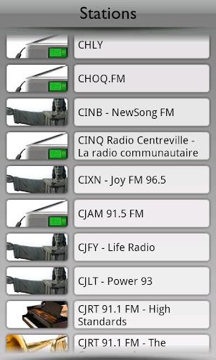 Canada Radio by Tunin.FM
