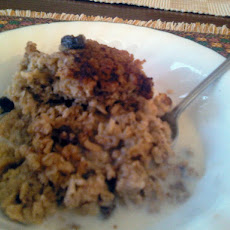 My Friend, Becky's Baked Oatmeal with Raisins and Walnuts