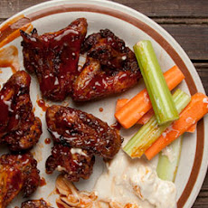 Fiery Oven-Baked Chicken Wings