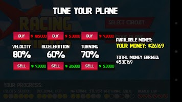 Screenshot of Racing Wings