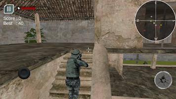 Screenshot of Brave Commando Action