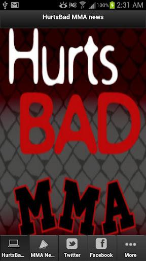 HurtsBad MMA News