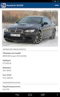 Screenshot of Fordonsfakta - För mina fordon