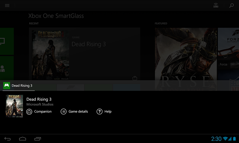 Xbox One SmartGlass Beta Screenshot 4