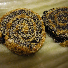 Korean Sesame Seed Cookies