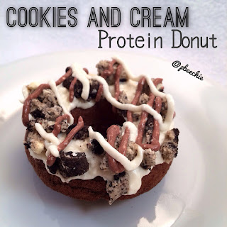 Cookies and Cream Protein Donuts