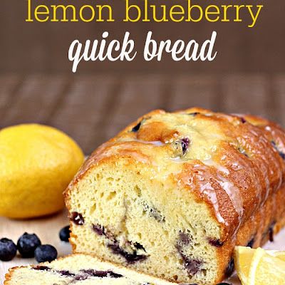 Lemon Blueberry Quick Bread