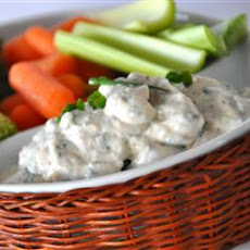 No-Guilt Zesty Ranch Dip