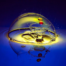 Forcefield down by Chandra Irahadi - Abstract Water Drops & Splashes