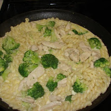 Chicken, Broccoli and Fusilli Pasta
