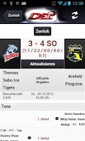 Screenshot of DEL - Deutsche Eishockey Liga