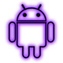 GloWorks Purple ADW Theme icon