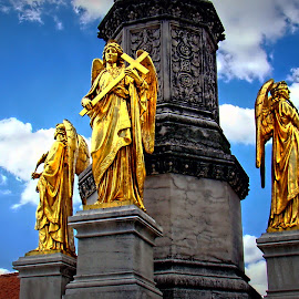 Angels by Tihomir Beller - Buildings & Architecture Places of Worship ( building, guardian, places, angels, worship )