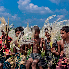 Under The Blue Sky by Khoka Rahman - People Street & Candids ( nature )