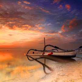 one boat to the journey by LeeMonz Moonz - Transportation Boats (  )