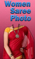 Screenshot of Woman Saree Photo Montage