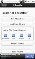 Screenshot of Javascript Tools - Free
