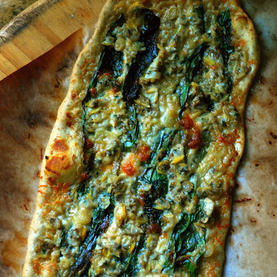 Ramp and Clam Pizza