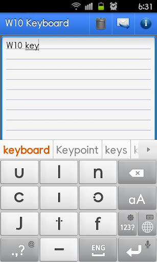 W10鍵盤Pro試用