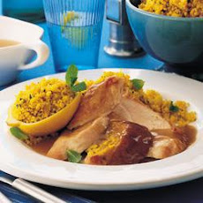 Roast Turkey With Lemon Couscous
