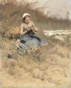 RIJKS: Bernardus Johannes Blommers: painting 1886