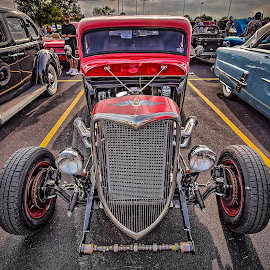 Winged Eye by Ron Meyers - Transportation Automobiles