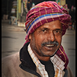 Ramlal by Prasanta Das - People Portraits of Men ( color, close up, porter, portrait )