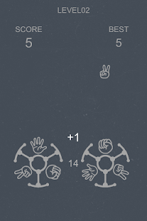 Rock-paper-scissors - screenshot