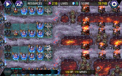 Tower Defense: Infinite War - screenshot
