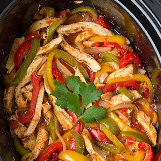 Crock Pot Chicken Fajitas Recipes | Yummly