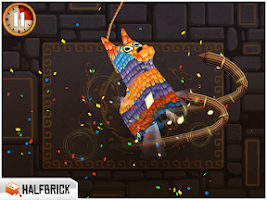 Screenshot of Fruit Ninja: Puss in Boots