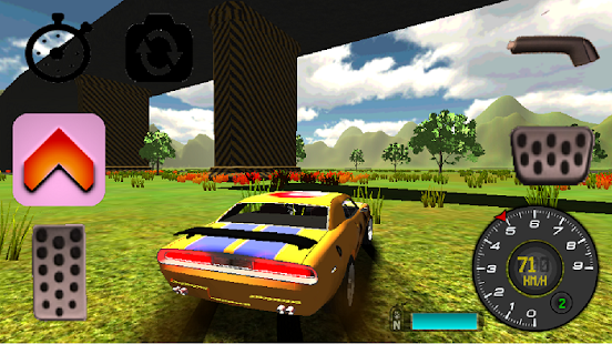 Classic Car Simulator 3D - screenshot