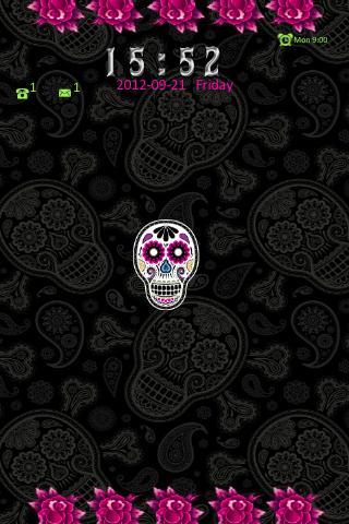 Skulls n Roses Theme Go Locker