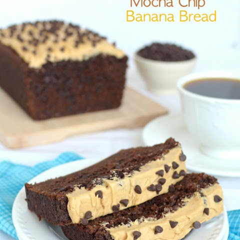 Chocolate Mocha Chip Banana Bread
